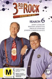 3rd Rock From The Sun Season 6 (3 Disc) on DVD image