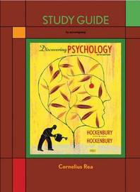 Discovering Psychology Study Guide by Don H Hockenbury image