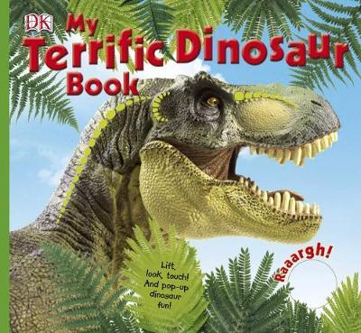 My Terrific Dinosaur Book by DK image