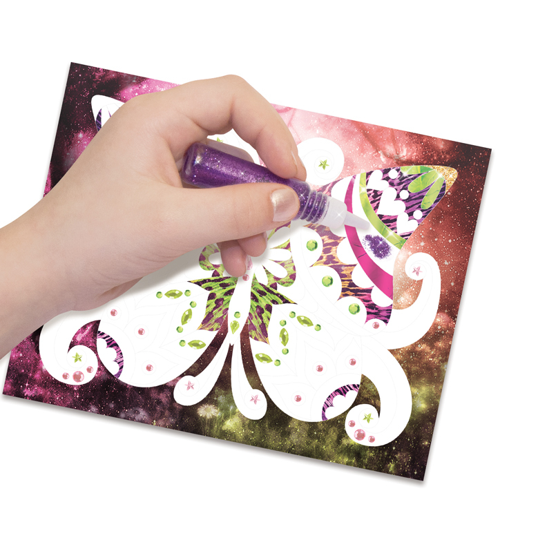 Nebulous Stars: Glitter & Foil - Art Kit image
