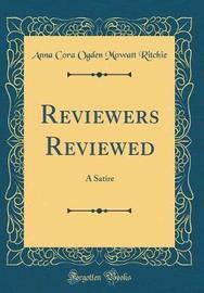 Reviewers Reviewed by Anna Cora Ogden Mowatt Ritchie image