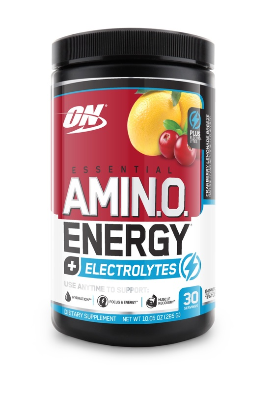 Optimum Nutrition: Amino Energy + Electrolytes - Cranberry Lemonade (30 Serves)
