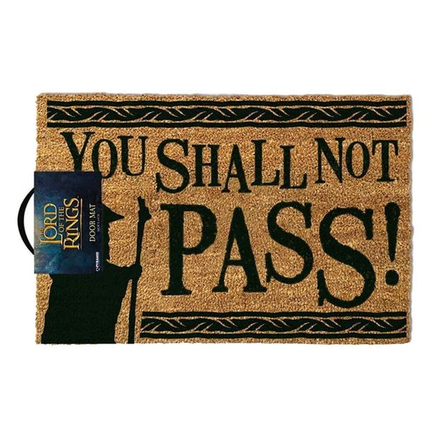 The Lord Of The Rings: You Shall Not Pass - Doormat