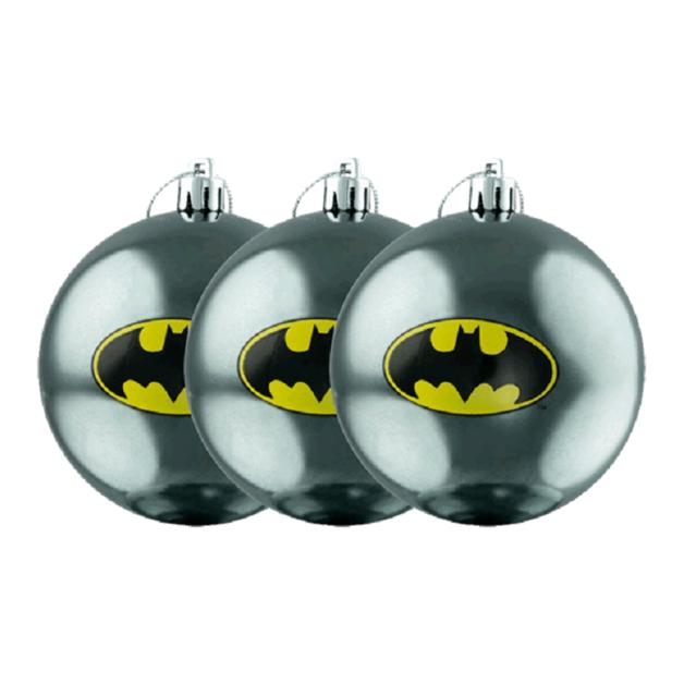 Batman: Logo Christmas Bauble Ornament (3-Pack)