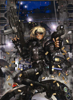 Intron Depot: v. 3: Ballistics by Masamune Shirow image