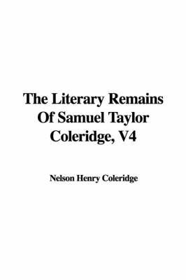 fragmentary dreams in the literary works of samuel taylor coleridge The best books on samuel taylor coleridge otherwise fragmentary but not coleridge's it becomes a two-volume work with lots and lots of new poems.