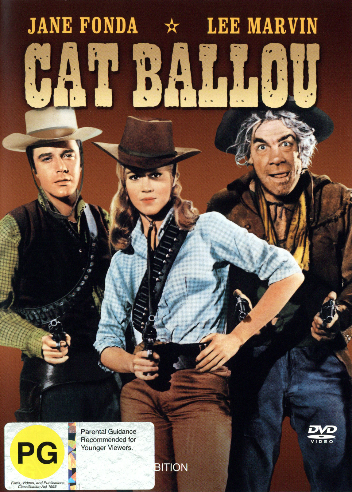 Cat Ballou on DVD image