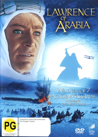 Lawrence Of Arabia on DVD image