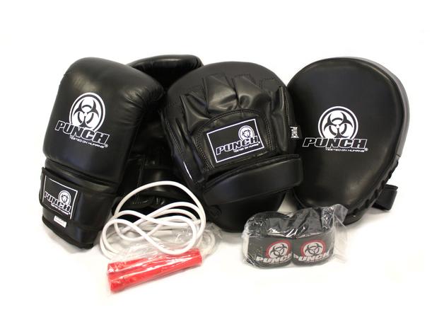 Punch: Urban Glove Combo Pack - Medium (Black)