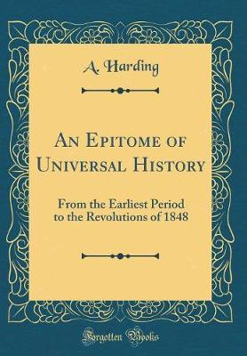 An Epitome of Universal History by A Harding image