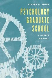 Psychology Graduate School by Steven R Smith image