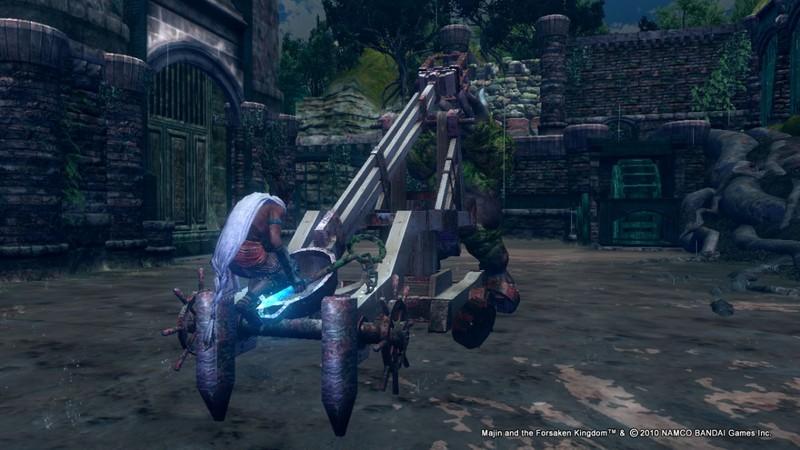 Majin and The Forsaken Kingdom for Xbox 360 image