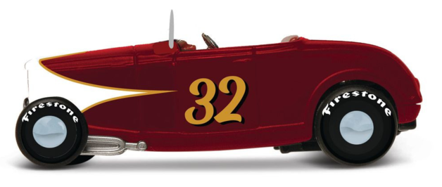 Maisto: 1:64 Die-Cast Vehicle - Design Outlaws (Classic Red)