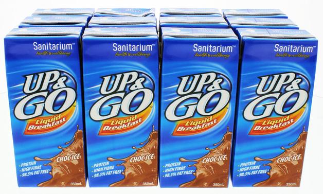 UP&GO Liquid Breakfast Choc Ice (350ml)
