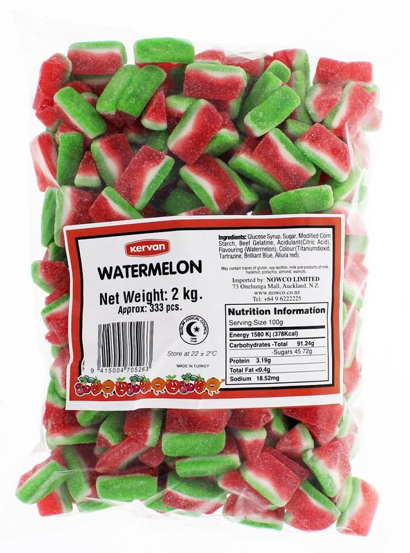 Kervan Watermelon Gummies At Mighty Ape Nz