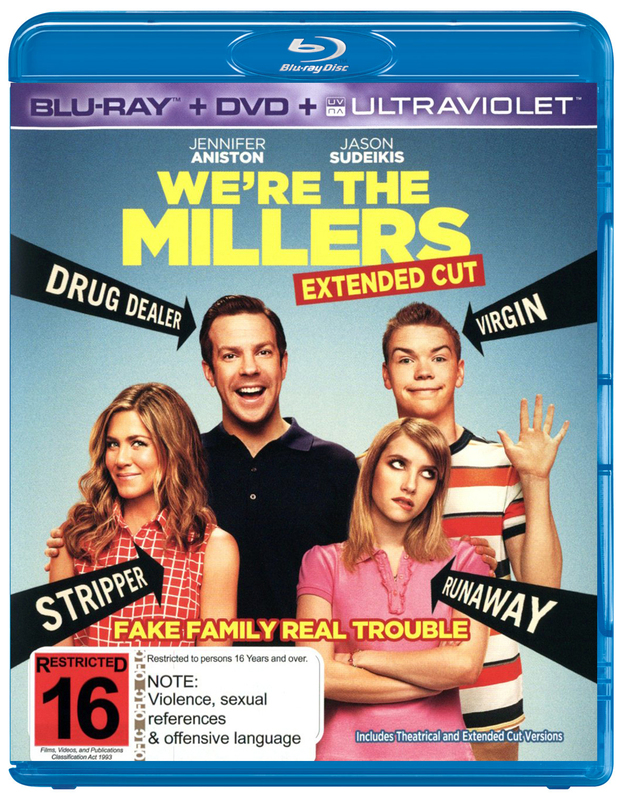 We're the Millers on DVD, Blu-ray, UV