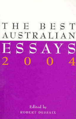 Best Australian Essays by Robert Dessaix image