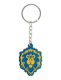 World of Warcraft: Alliance Logo - Rubber Key Chain
