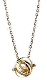 Harry Potter: Spinning Time Turner - Plated Necklace