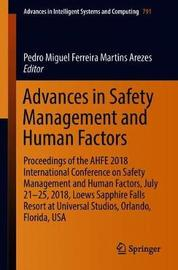 Advances in Safety Management and Human Factors image