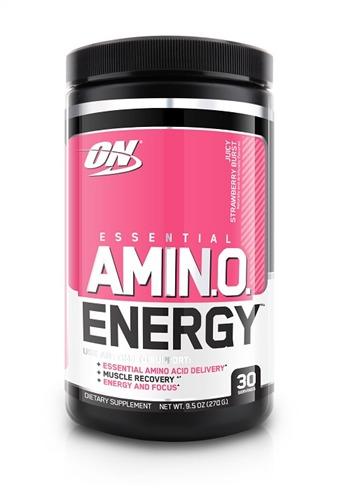 Optimum Nutrition Amino Energy Drink - Juicy Strawberry (30 Serves)