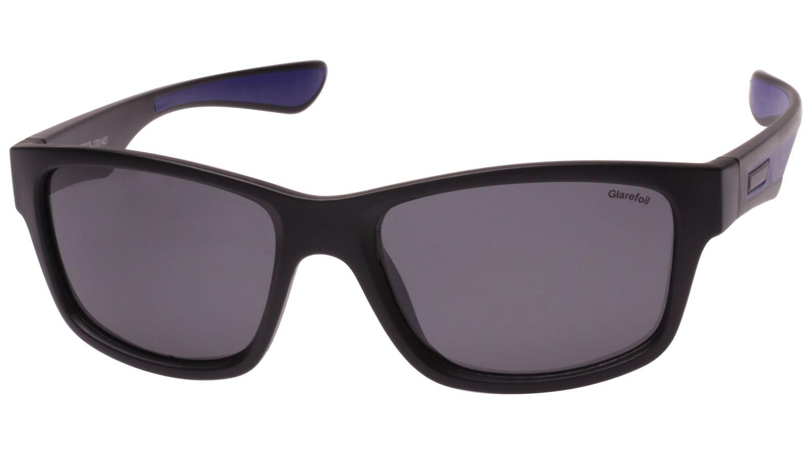 Aldridge Sunglasses - Black + Smoke Lens image