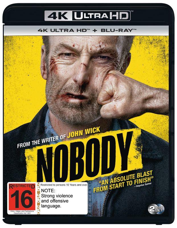 Nobody (4K UHD + Blu-Ray) on UHD Blu-ray
