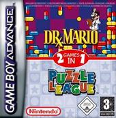 Dr Mario & Puzzle League (2 games in 1) for Game Boy Advance