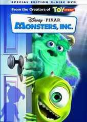 Monsters, Inc. - Deluxe Edition (2 Disc Set) on DVD
