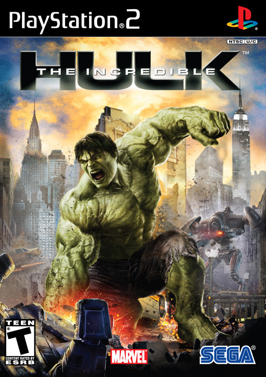 The Incredible Hulk for PlayStation 2
