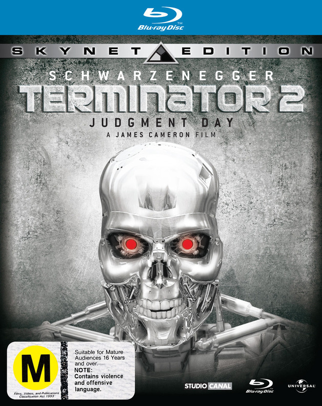 Terminator 2: Judgment Day - Skynet Edition on Blu-ray