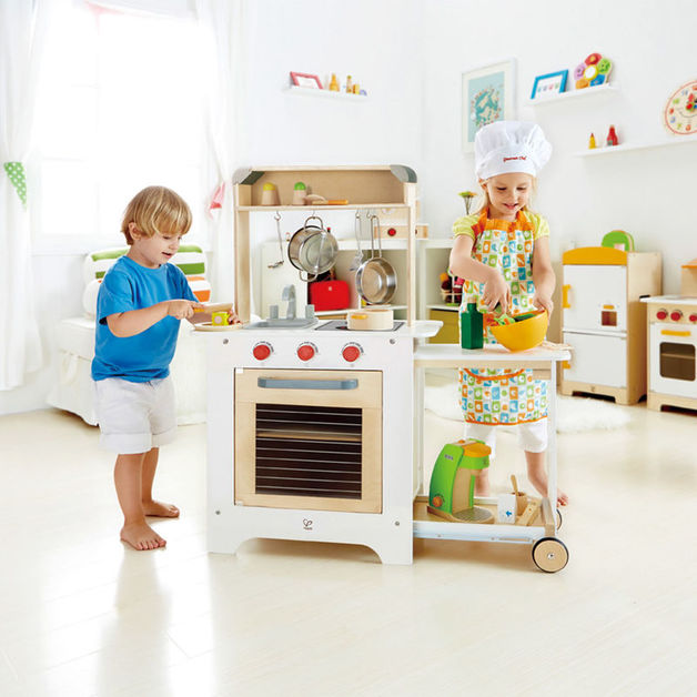 Hape: Cook n Serve Kitchen
