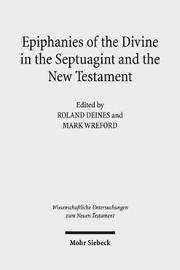 Epiphanies of the Divine in the Septuagint and the New Testament image