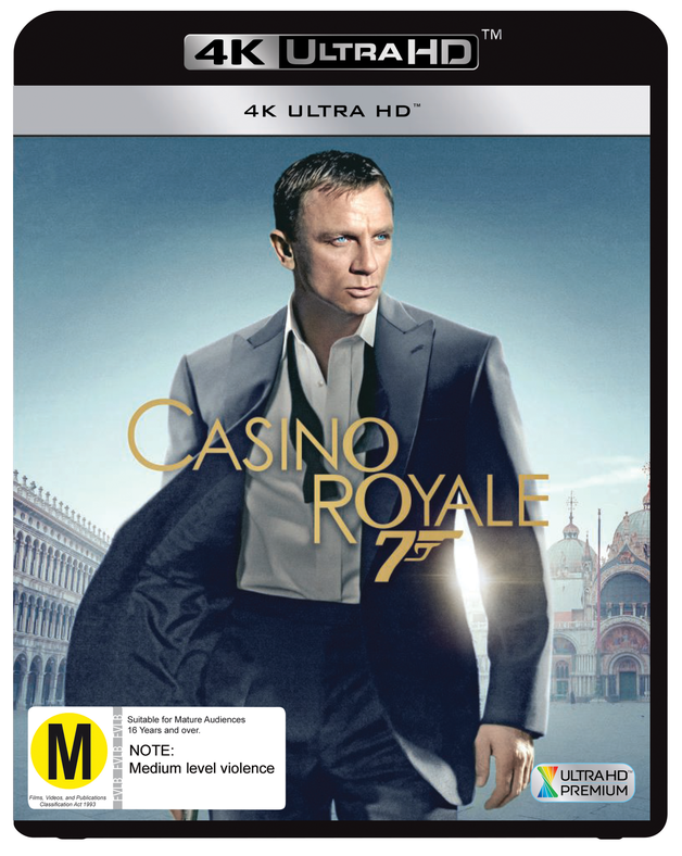 Casino Royale (4K Ultra HD Blu-ray) on UHD Blu-ray