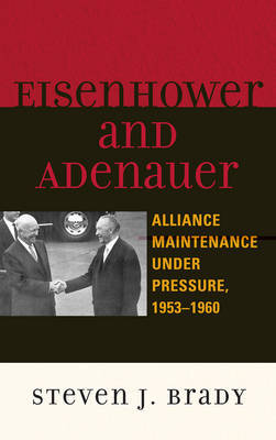 Eisenhower and Adenauer by Steven J. Brady image