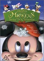 Mickey's Twice Upon A Christmas on DVD