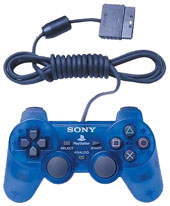 Official Sony Dual Shock 2 Controller: Ocean Blue for PlayStation 2