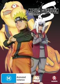 Naruto Shippuden Collection 08 (Eps 89-100) on DVD