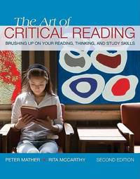 The Art of Critical Reading by Mather image