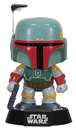 Star Wars Boba Fett Bobble Head Pop Vinyl Figure image