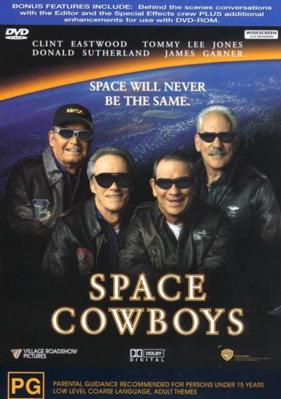 Space Cowboys on DVD image