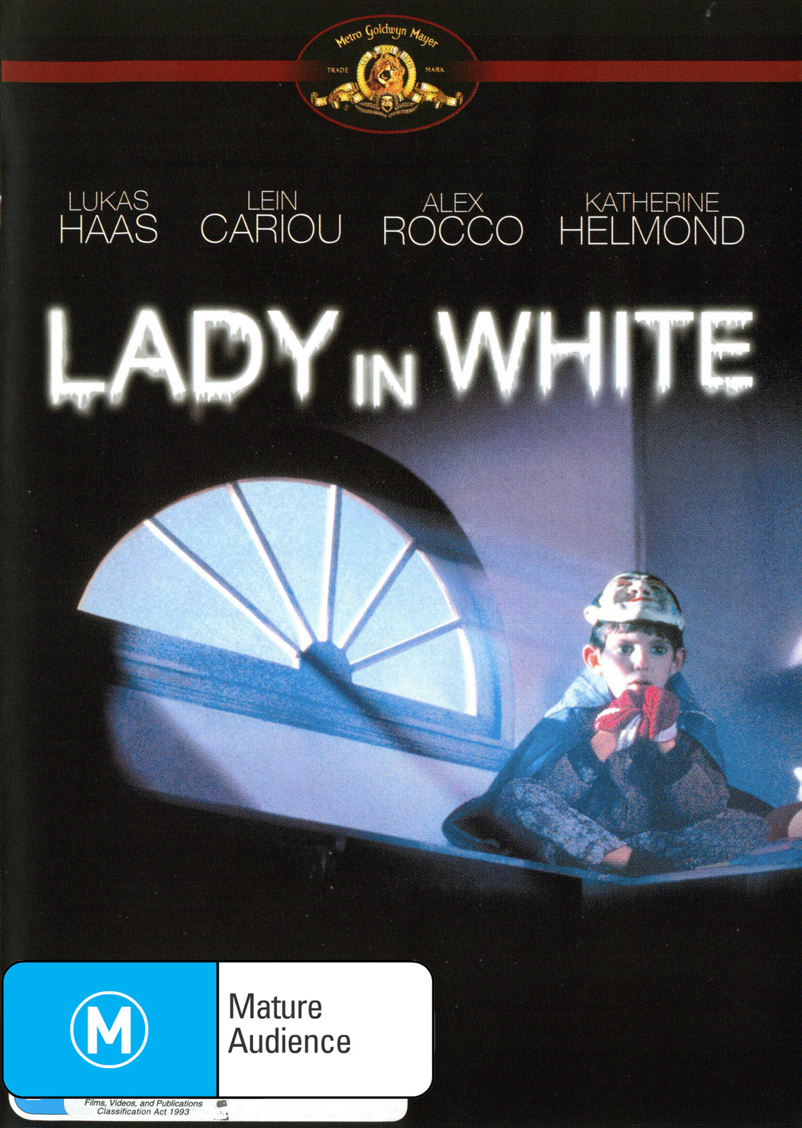 Lady in White on DVD image