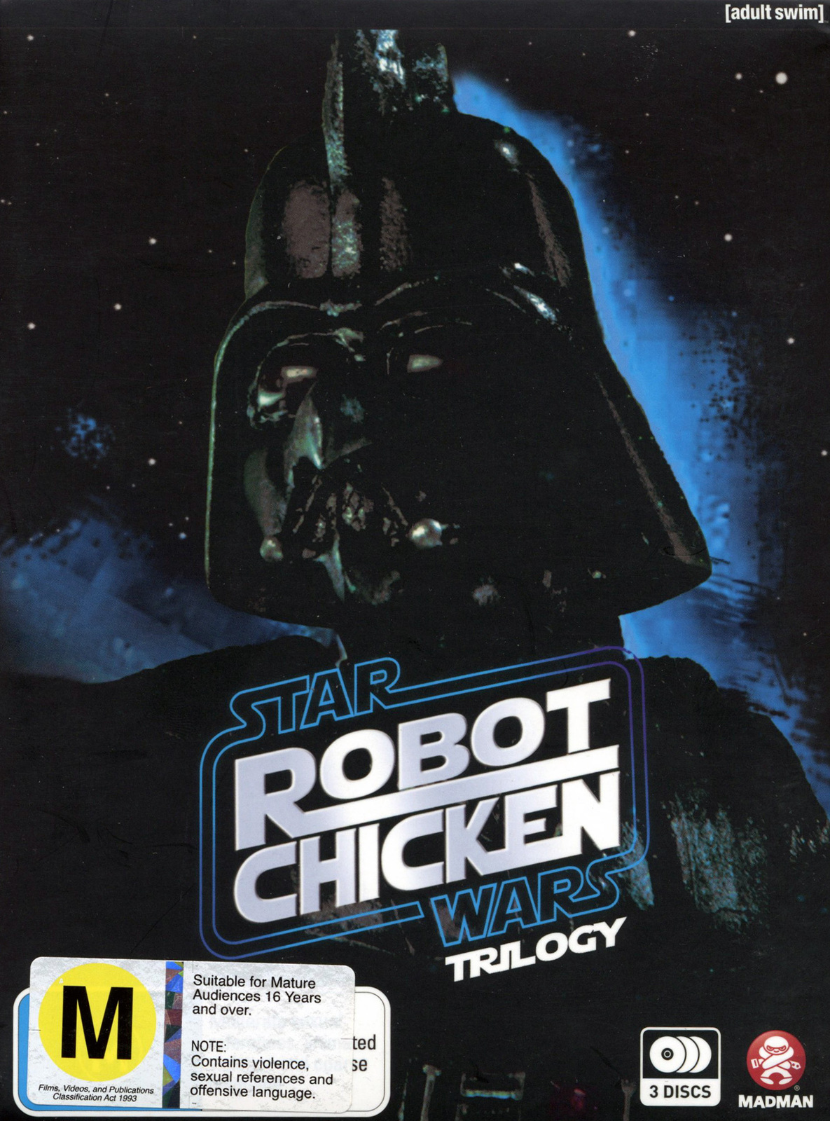 Robot Chicken Star Wars Complete Trilogy on DVD image