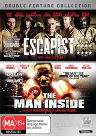 The Escapist / The Man Inside (2 Disc Set) on DVD