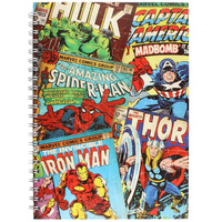 Marvel Retro Montage A5 Notebook