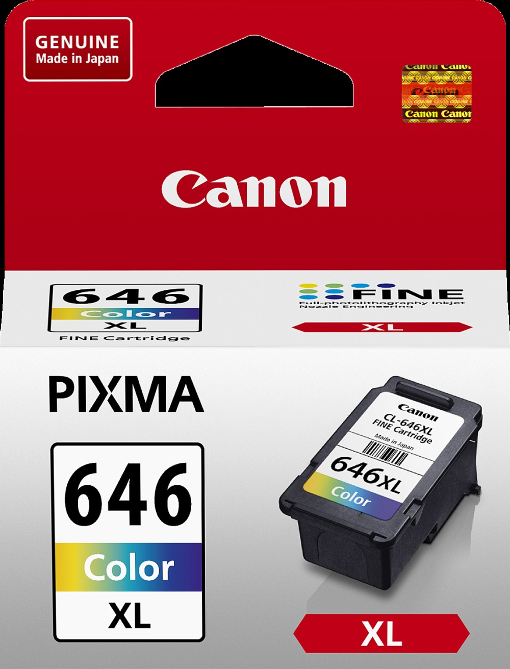 Canon Ink Cartridge - CL646XL (Colour High Yield) image