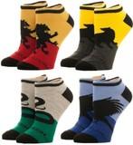 Harry Potter Ankle Socks (House Logos, 4 Pack)