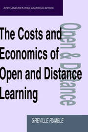 The Costs and Economics of Open and Distance Learning by Greville Rumble image