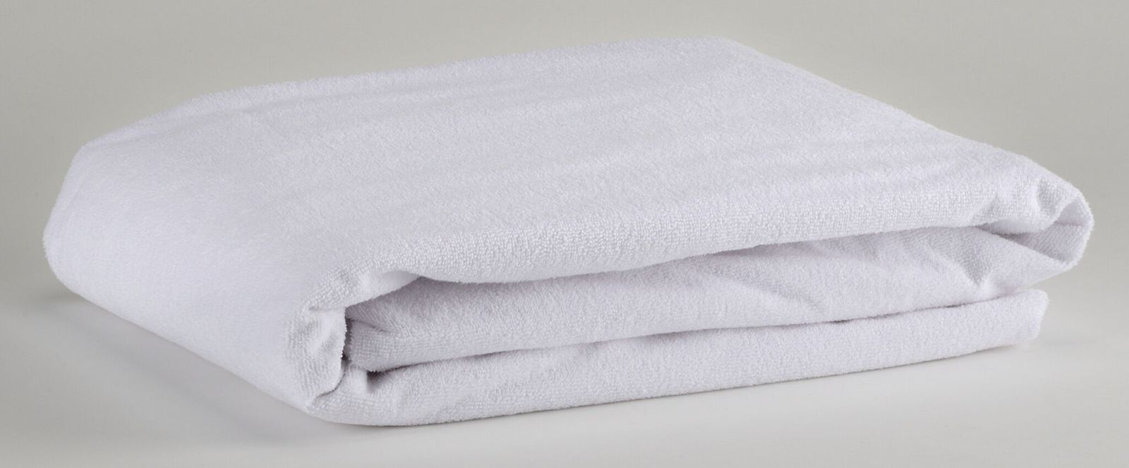 Brolly Sheets: Waterproof Towelling Mattress Protector - Double image