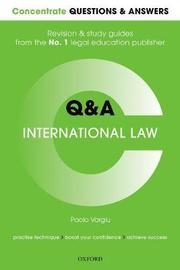 Questions & Answers International Law by Oxford Editor